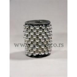 Girlandi kuglice 001112 silver