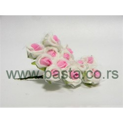 V.pik ružica belo/roza dx-122