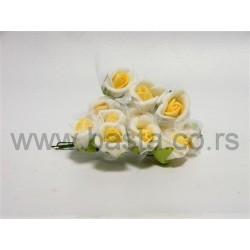 V.pik ružica belo/žuto dx106