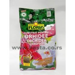 Zemlja za orhideje 3L Floria