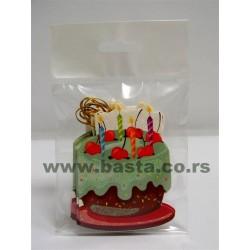 Čestitka mala 703 cake S/8