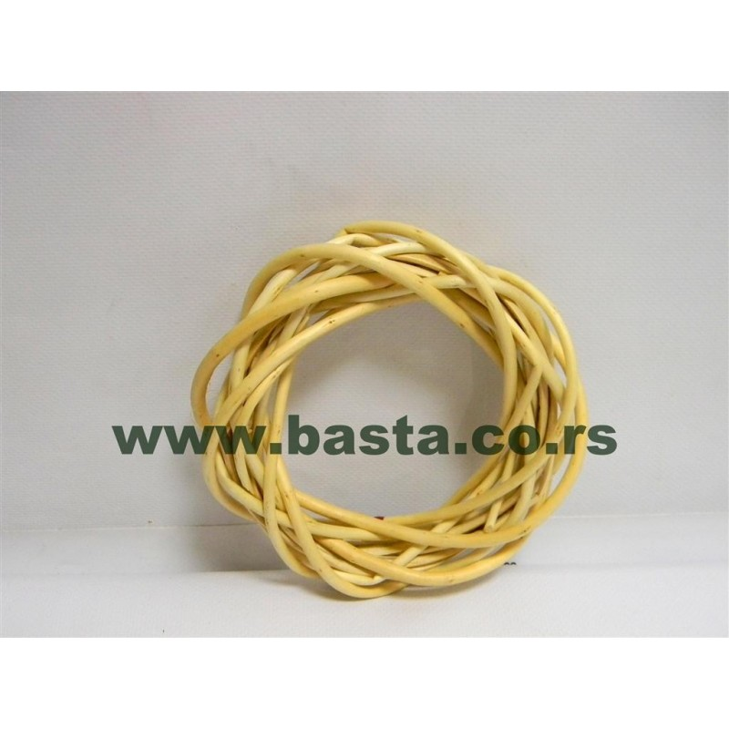 Pleteni ring od pruća 88-1 15 cm