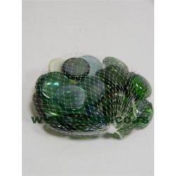 Kamenčići stakleni 350g mix u mrežici