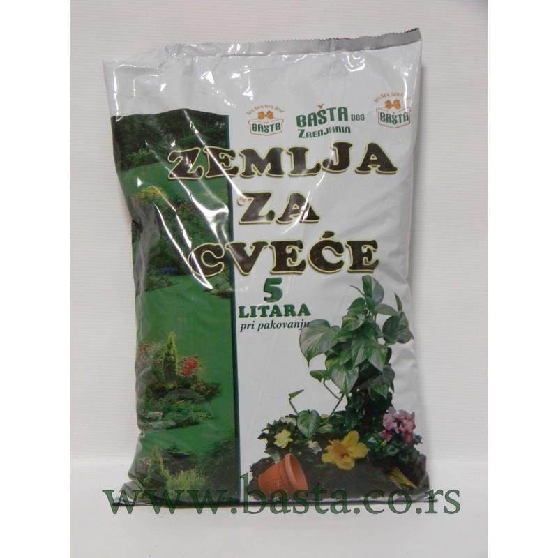 Zemlja za cveće  5 litara