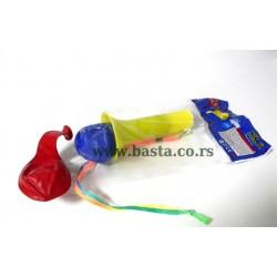 Deko balon s/2 truba mix svetleci