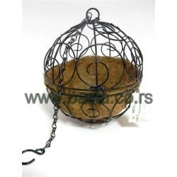 Korpa kokos-lopta za saksiju 3671-1A