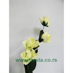 Plišana Grana ruža 1132 sv.zelena