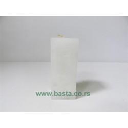 Sveća mozaik 11*4,5cm miss parafina