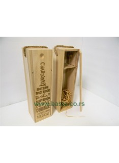 Kutija za piće 551709 drvo 10*10*35cm na