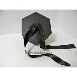 Kutija sestougaona 6378 crna