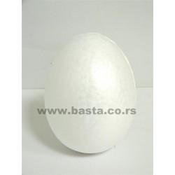Stiropor jaje 12cm ,6446