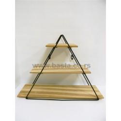 Deko polica 6887 piramida