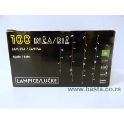 Sv. lampice zavesa riza 100