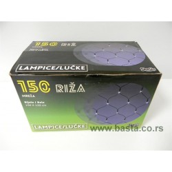 Mreza riza lampice 150