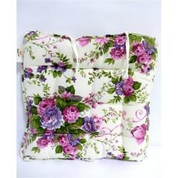 Deko mat.sedalica 40*40*5cm cvetna rapsodija